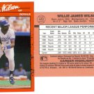 Card #440 Willie Wilson