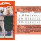 Card #442 Mookie Wilson