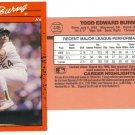 Card #446 Todd Burns