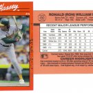 Card #450 Ron Hassey