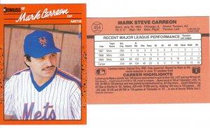 Card #454 Mark Carreon