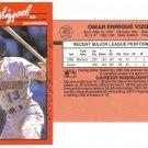 Card #483 Omar Vizquel