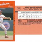 Card #490 Kent Anderson