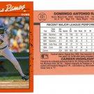 Card #491 Domingo Ramos