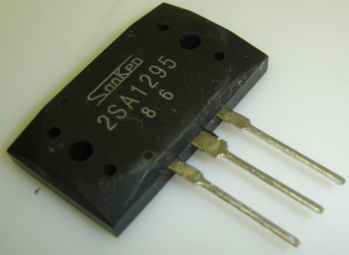 2SA1295 Sanken Original Silicon PNP Epitaxial Planar Transistor