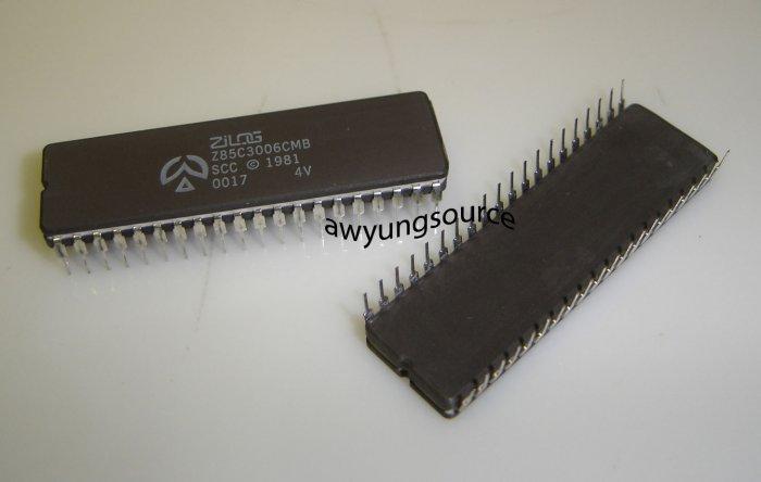 Z85C3006CMB / 5962-8868901QA Original Zlog 40P Ceramic DIP IC