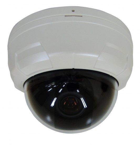 "Super High Resolution Indoor Color Dome Camera - Sony 1/3"" Super HAD CCD"