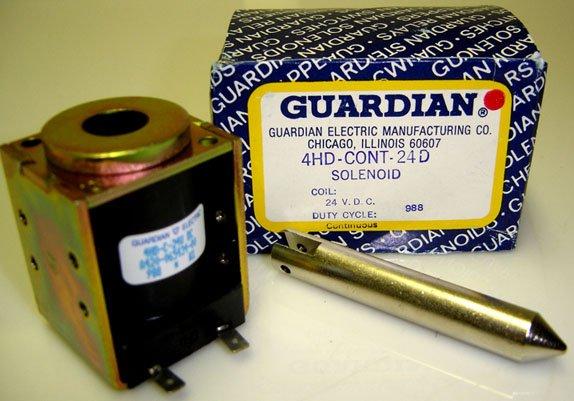 4HD-CONT-24D GUARDIAN SOLENOID  A420-065434-00