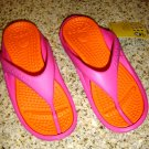 Crocs Childrens Athens Toddler Size C12/13 Fuchsia/Coral