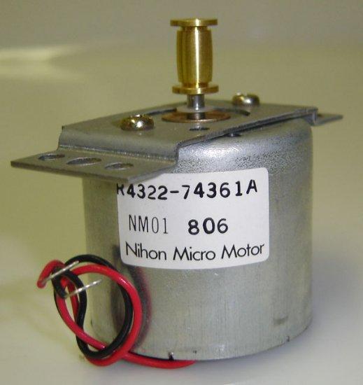 NM01 806 Nihon Micro Motor R4322-74361A