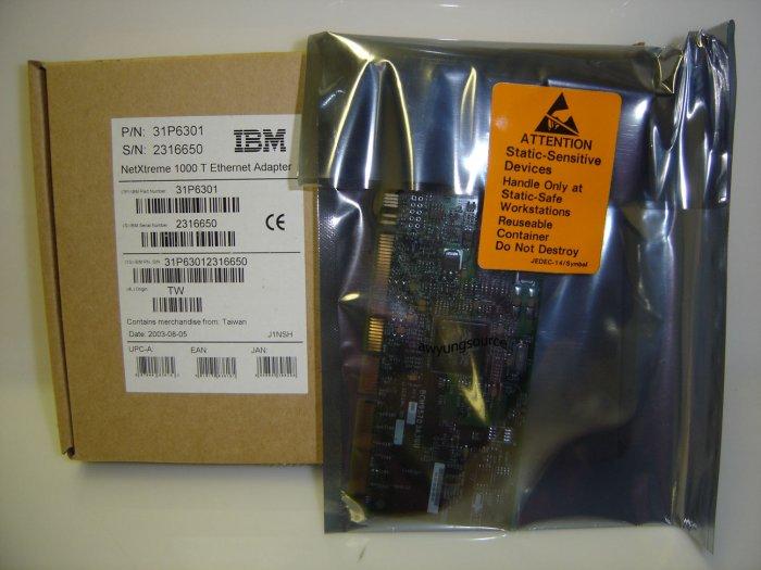 31P6301 IBM NetXtreme 1000T Network Adapter