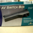 AV Switch Box Performance Connects 3 Video Games to Television