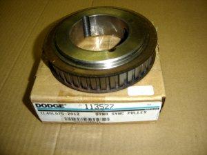 TL40L075-2012 Dodge Dyna Sync Pulley