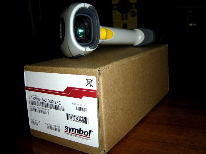 Symbol LS4208-SR20001ZZ Handheld Scanner - Brand New!