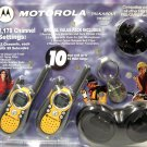 Motorola TX6510XLR Two Way Radio - 10 Mile Range w/Rechargeable Batteries