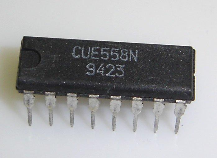 CUE558N Quad Timer Cue IC - Equivalent to NE558N