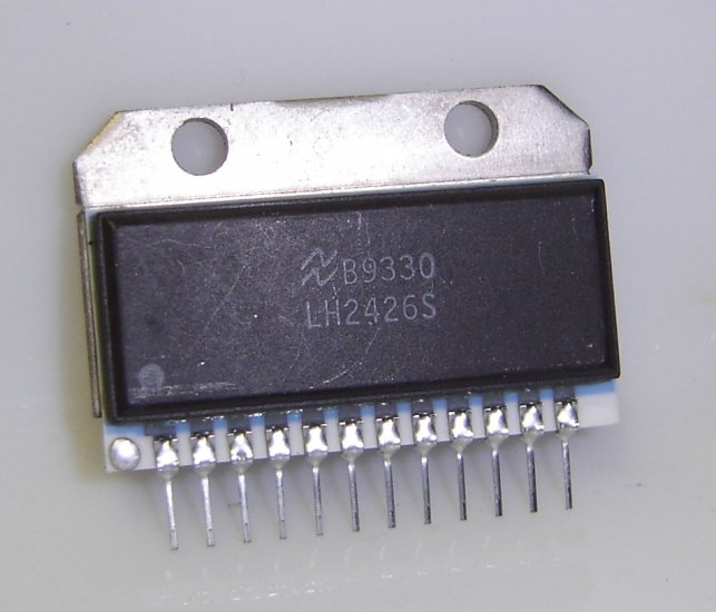 LH2426S National Semiconductor Original Triple 80 MHz CRT Driver