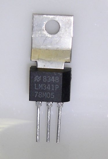 LM341P / LM78M05 National Semiconductor Original 5V - 5 Pieces