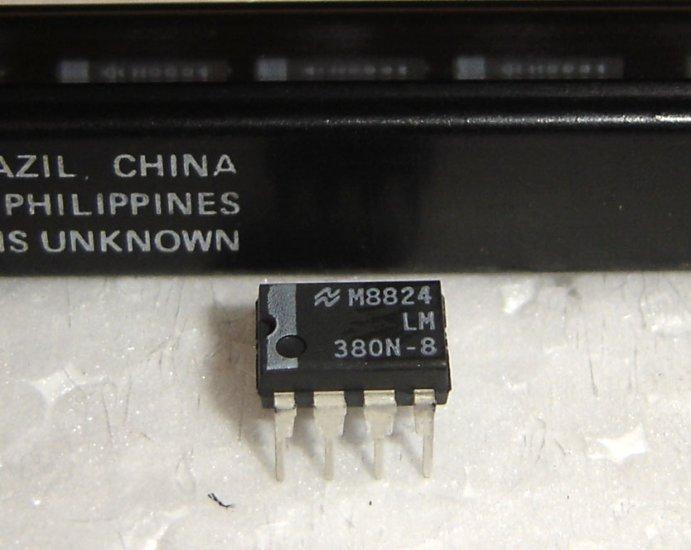 LM380N National Semiconductor Original 2.5W Audio Power Amplifier IC