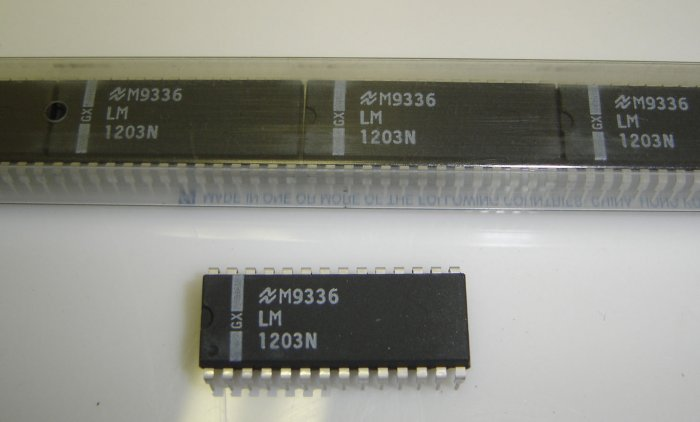 LM1203N National Semiconductor RGB Video Amplifier System IC