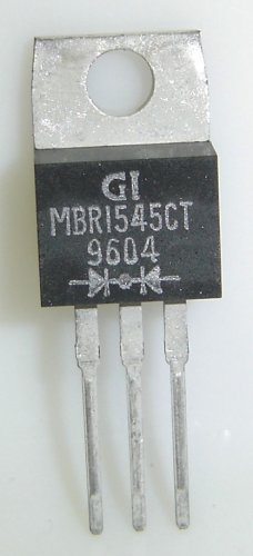 MBR1545CT General Instrument Original 15A-45V Schottky
