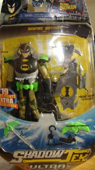 SKYFIRE BATMAN L2348/K6321 SHADOW TEK ULTRA NEW IN BOX!