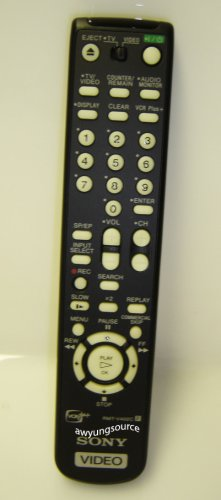 RMT-V402C SONY ORIGINAL REMOTE CONTROL - NOT A REPLACEMENT OR UNIV MODEL!