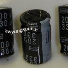 330uF-200V SAMYOUNG ELECTROLYTIC CAPACITORS 3 PCS!