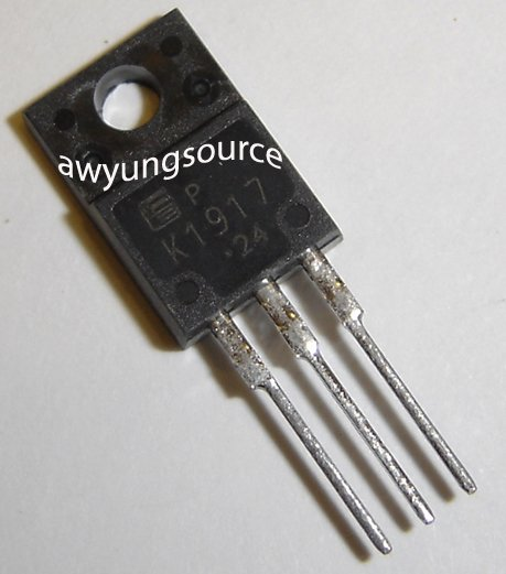 2SK1917 FUJI ELECTRIC N-CHANNEL SILICON POWER MOSFET
