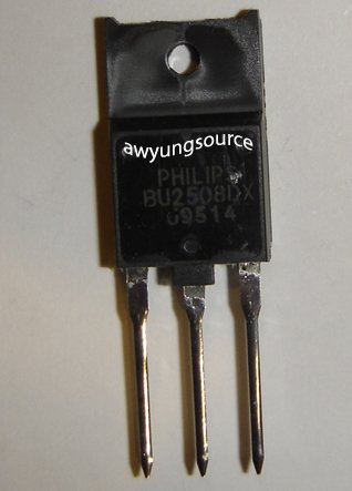 BU2508DX PHILIPS ORIGINAL NPN SILICON POWER TRANSISTOR