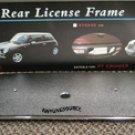 971015 Autotecnica Mini-Cooper Chrome Rear License Plate Frame