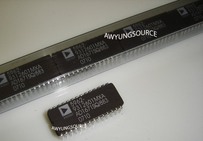 5962-9312601MXA ANALOG DEVICES - COMPLETE 12-Bit 1.25 MSPS Monolithic A/D Converter