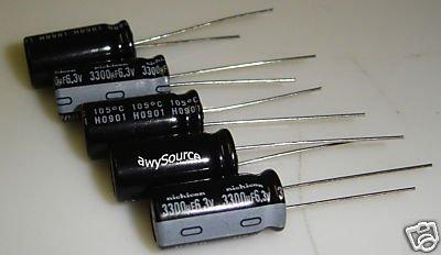 3300uF-6.3V NICHICON VZ(M) 105C ELECTROLYTIC CAPACITOR