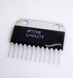 LM2427T NATIONAL SEMICONDUCTOR TRIPLE 80 MHz CRT DRIVER