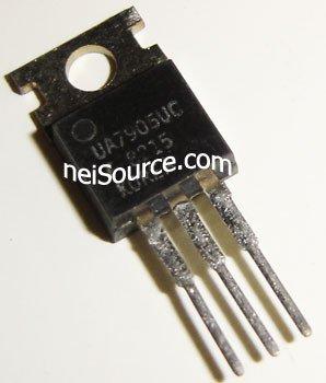 UA7905UC NEC ORIGINAL FIXED NEGATIVE VOLTAGE REG 5 PCS