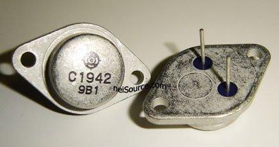2SC1942 HITACHI SILICON NPN TRIPLE DIFFUSED TRANSISTOR