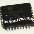 27C512-120JC AMD 512 KILOBIT CMOS EPROM 64K X 8-BIT IC