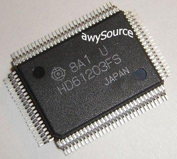 HD61203UFS HITACHI ORIGINAL DOT MATRIX LIQUID CRYSTAL