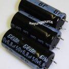 6.8uF-50V BI-POLAR SNAP RADIAL LEADS 105C ELITE 3 PCS