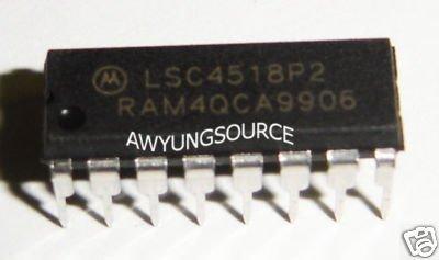 LSC4518P2 MOTOROLA ORIGINAL 16 PIN DIP IC BRAND NEW!