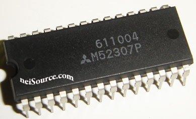 M52307P MITSUBISHI ORIGINAL 3-CHANNEL VIDEO AMPLIFIER