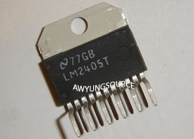 LM2405T NATIONAL SEMICONDUCTOR ORIGINAL 7ns CRT DRIVER