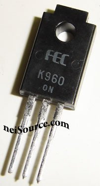 2SK960 FUJI ORIGINAL N-CHANNEL SILICON POWER MOSFET