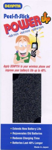 CELL PHONE BATTERY LIFE EXTENSION PATCH BY DENPITA