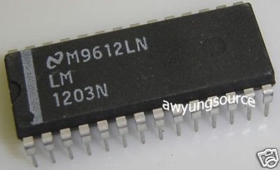 LM1203N NATIONAL SEMICONDUCTOR RGB VIDEO AMPLIFIER SYS