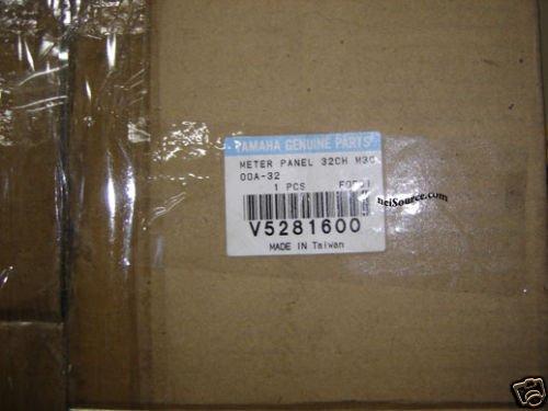 M3000A-32 YAMAHA METER PNL V5281600 BRAND NEW & GENUINE