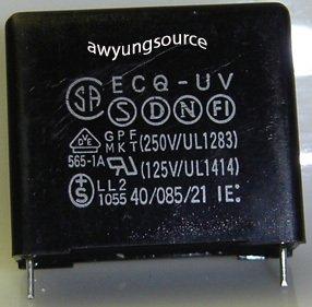 1.0uF-250V MATSUSHITA ECQ-UV POLYPROPYLENE 10% MKT GPF