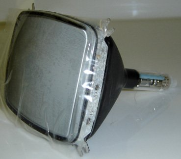 5KTULA NATIONAL 5.5 INCH AMBER CRT - USED IN HAM RADIOS