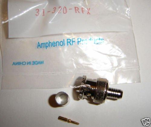 31-320-RFX AMPHENOL 3 PC BNC 50 OHM CRIMP CABLE PLUG