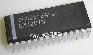 LM1207N NATIONAL SEMICONDUCTOR 130 MHz/85 MHz RGB Video